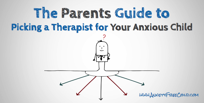 picking a therapist