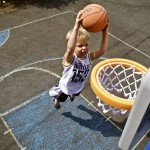 child sports basketball feature