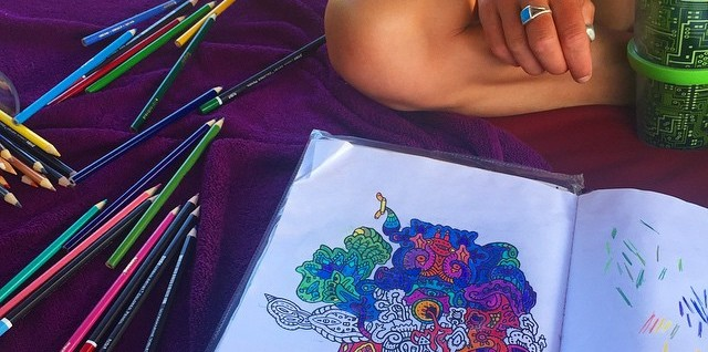 Coloring Books Arent Just For Children Anymore As Adults Have Latched Onto Them A Soothing Way To Beat The Stress Of Day