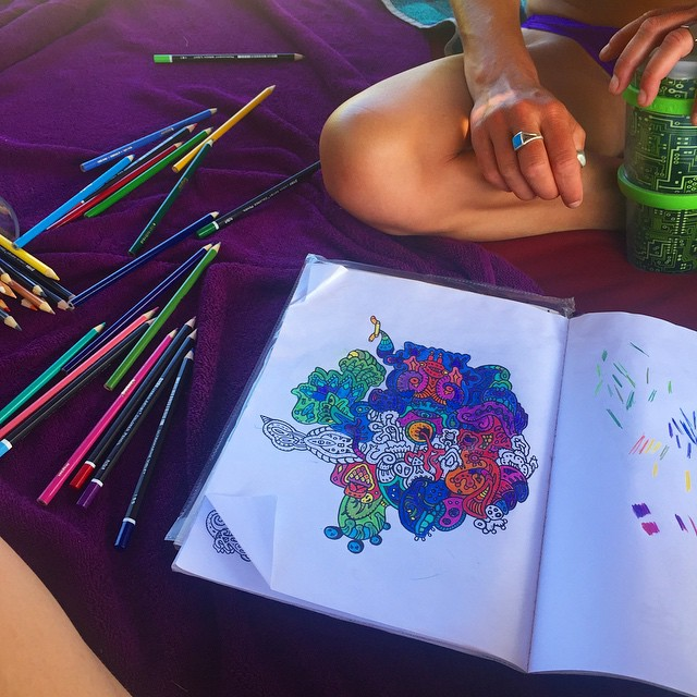 How Coloring Books Help Anxious Children And Adults